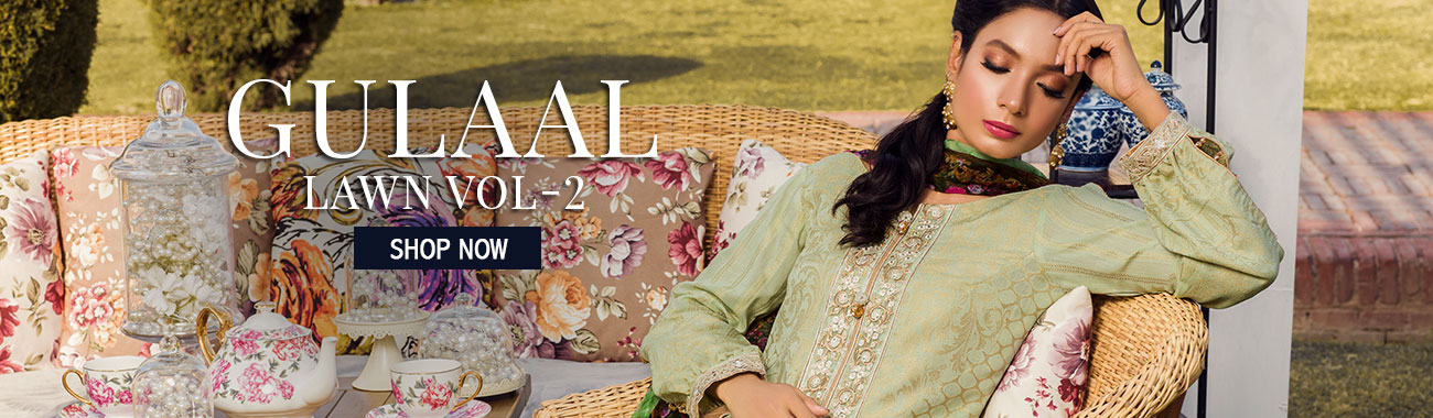 61f4bc437c Gulaal Online: Gulaal Embroidery Lawn, Chiffon, Eid Collection 2019   Gulaal  Stitched & Unstitched Range   Buy Sanaulla Store