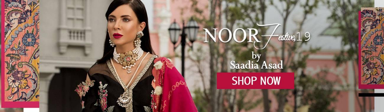 97e14380f5 Noor by Saadia Asad Lawn 2019 Online | Festive Eid Lawn Chiffon Silk Online  Suits 2019 Collection | Noor by Saadia Asad 2019 Range