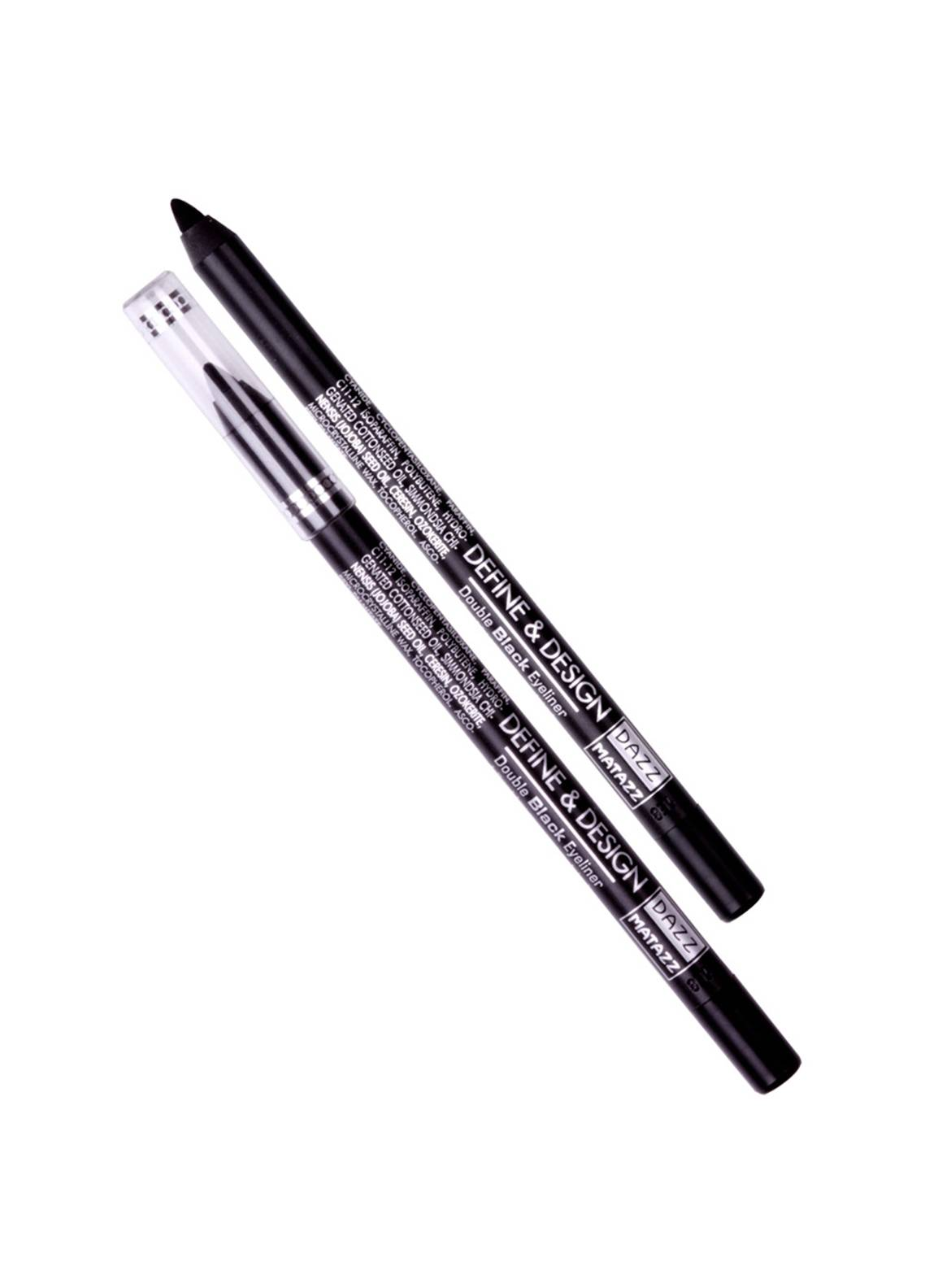 Dazz Matazz DEFINE & DESIGN DOUBLE BLACK EYE LINER