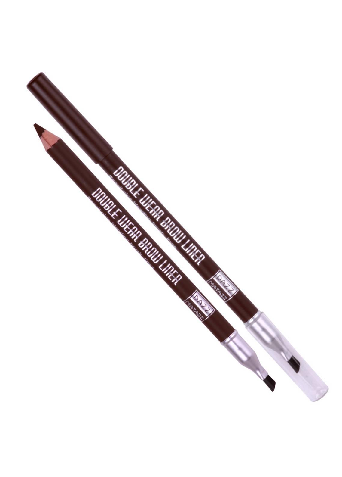 Dazz Matazz Double Wear Brow Liner-Brown