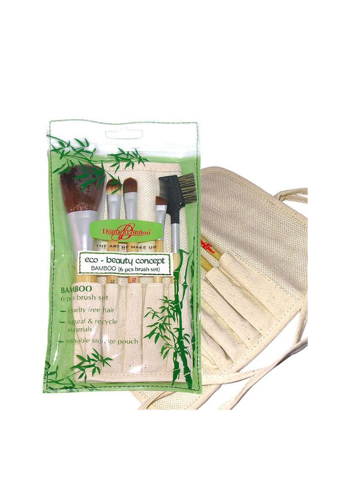 Diana Of London Bamboo Makeup Brush Set
