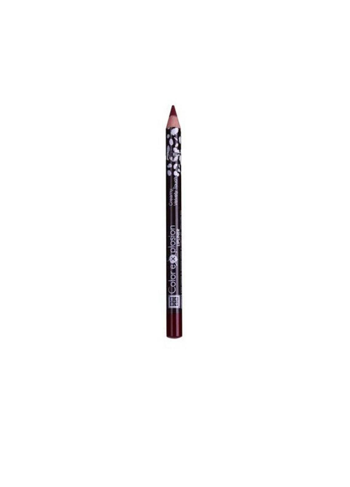 DMGM Color Explosion Lip Liner Maroon Fever-09