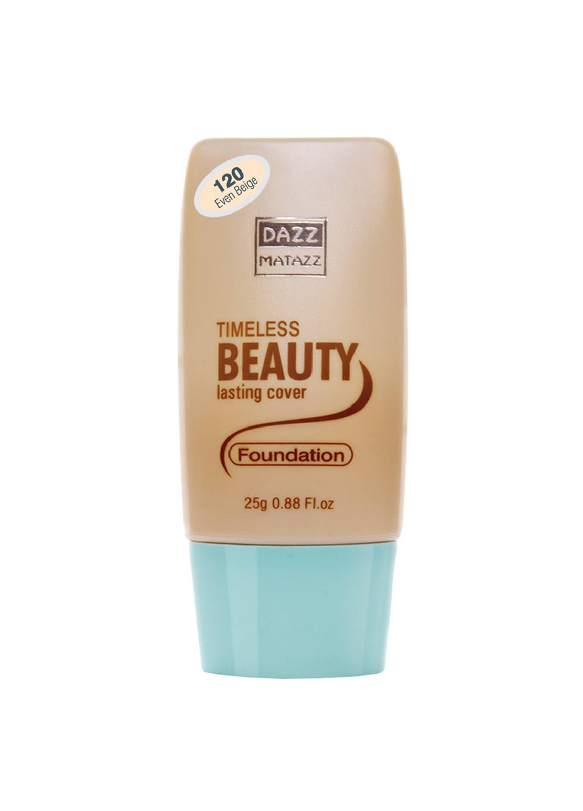Dazz Matazz Timeless Foundation-120 EVEN BEIGE