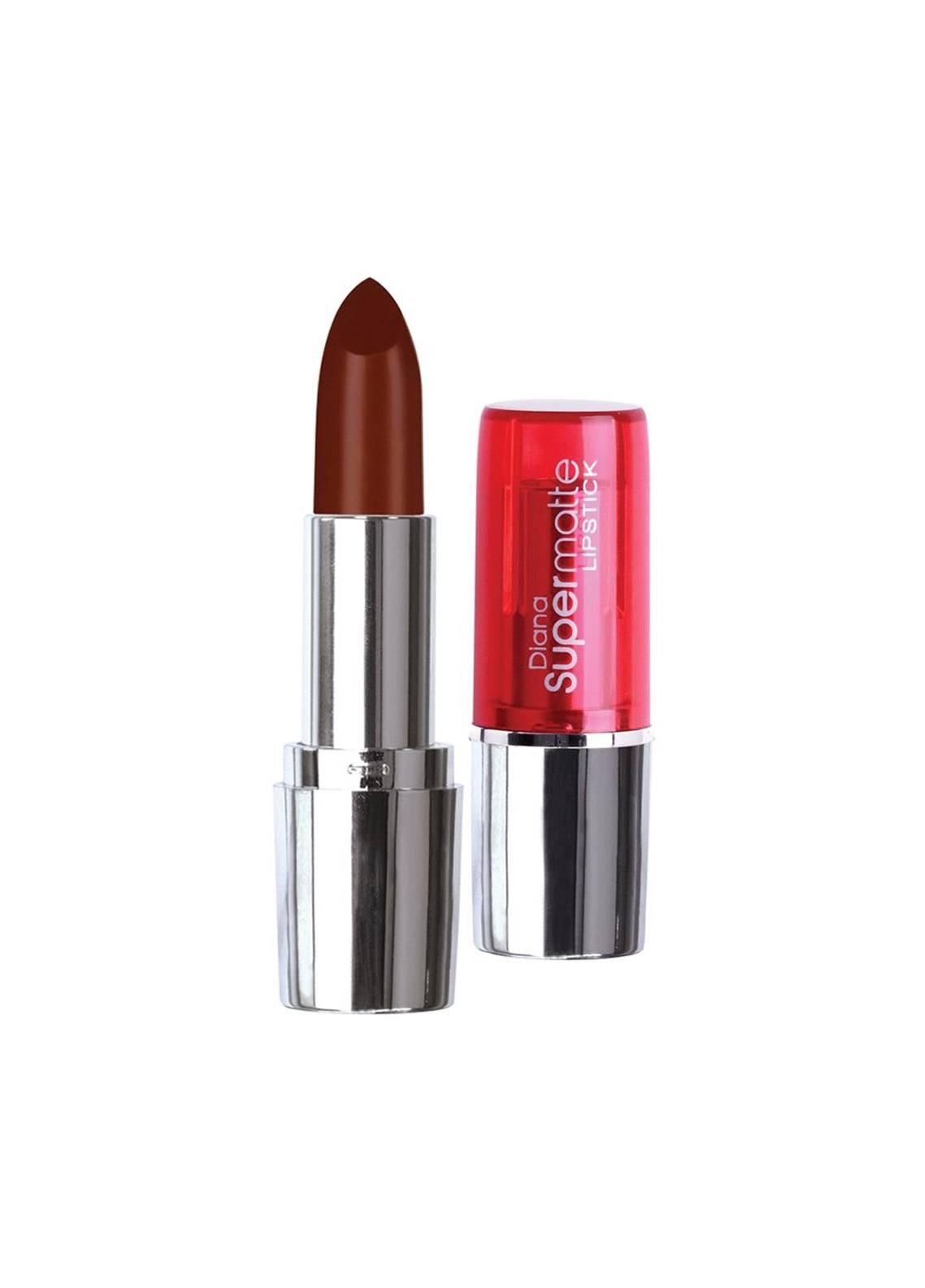 Diana Of London Super Matte Lipstick - 16 Rich Chocolate