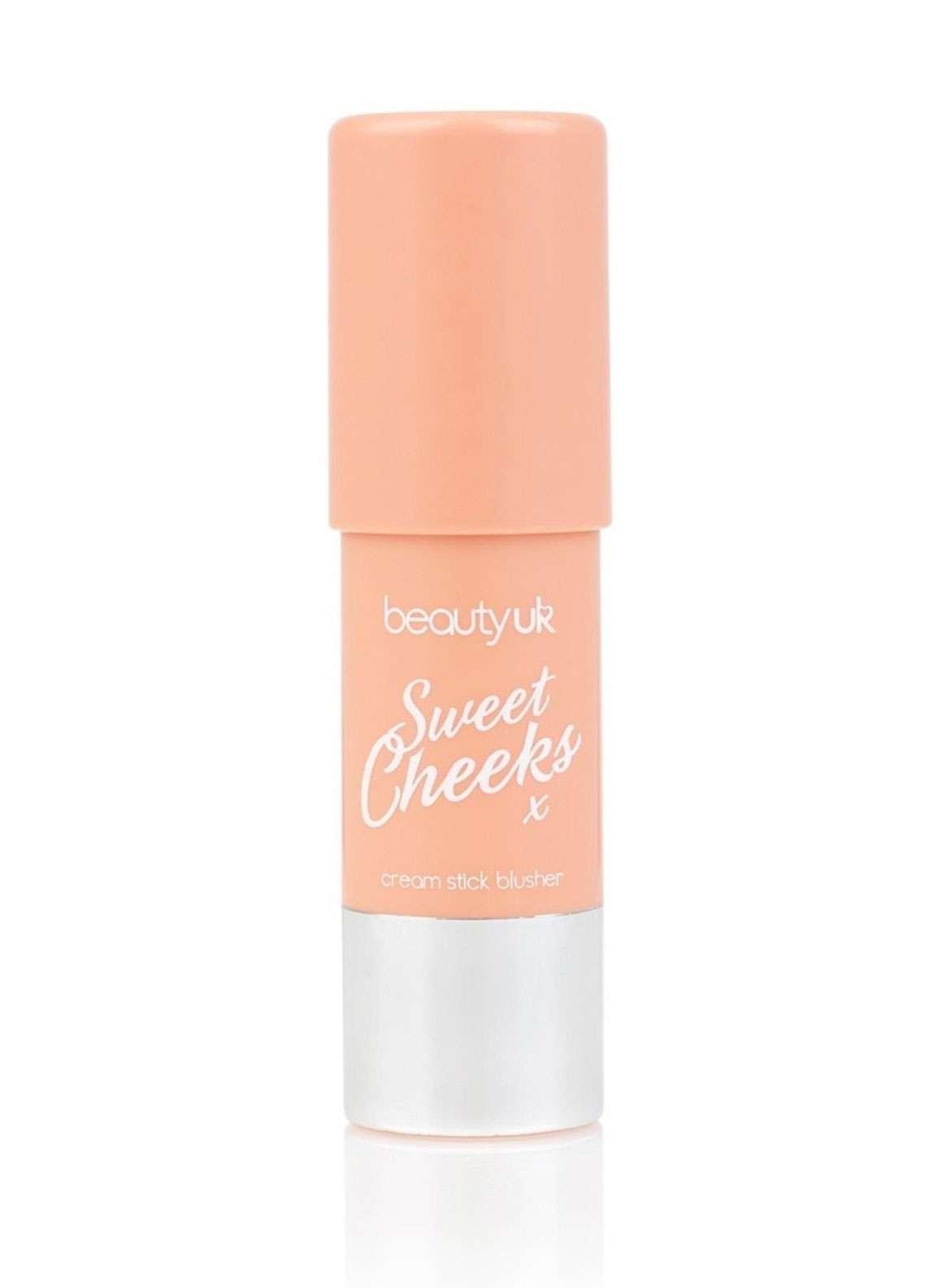 Beauty UK Sweet Cheeks Blusher - 1 Peachy Cream