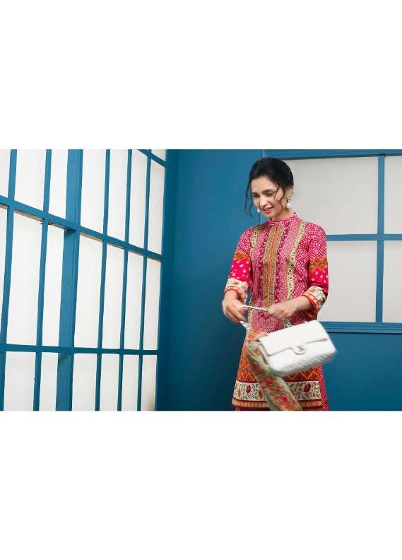 Arisha Chowdary BY ZS Embroidered Lawn Unstitched 3 Piece Suit AC18L 08 - Spring / Summer Collection