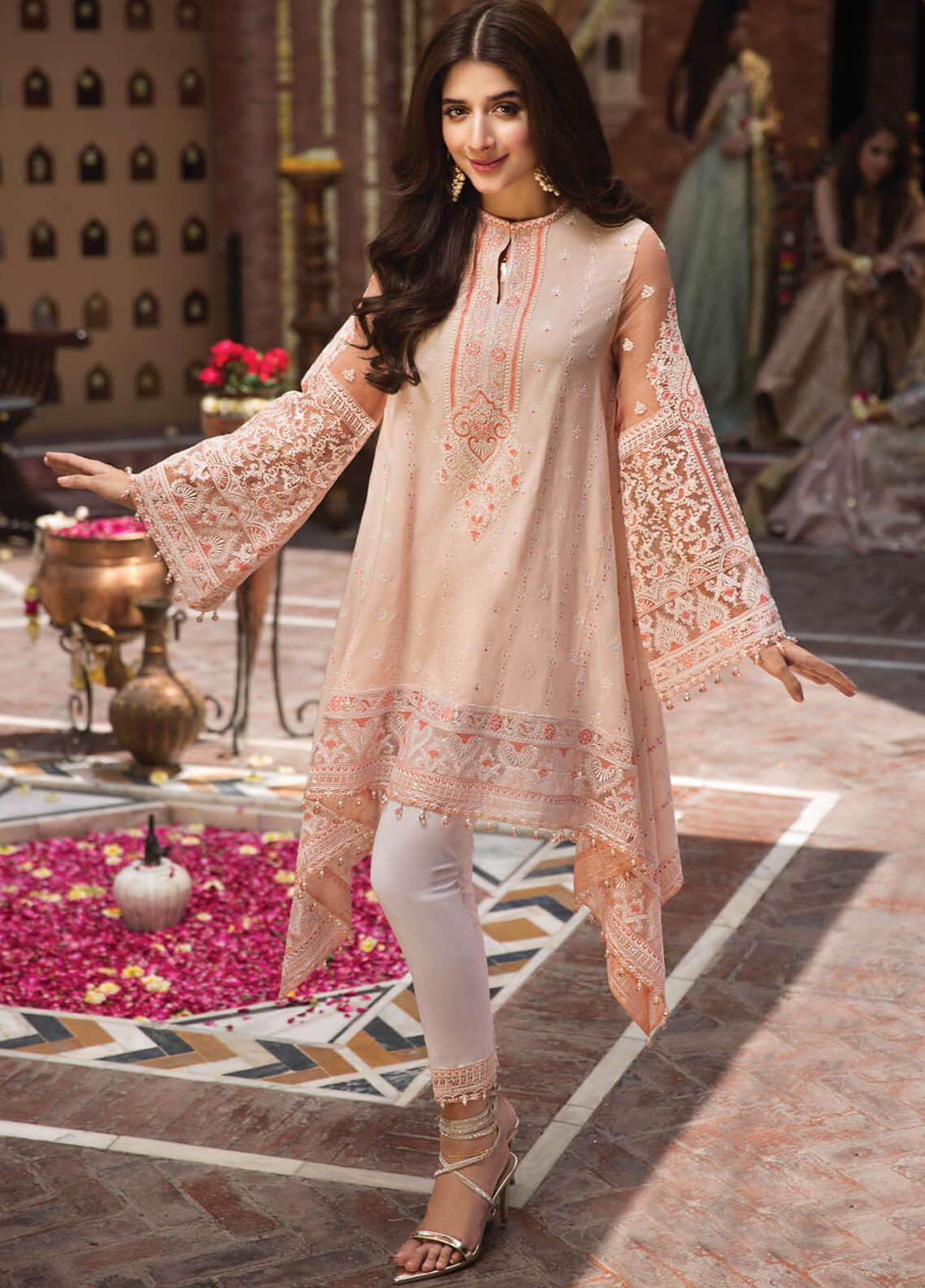 Anaya by Kiran Chaudhry Embroidered Lawn Unstitched 3 Piece Suit AKC19F 06 ELENA - Festive Collection