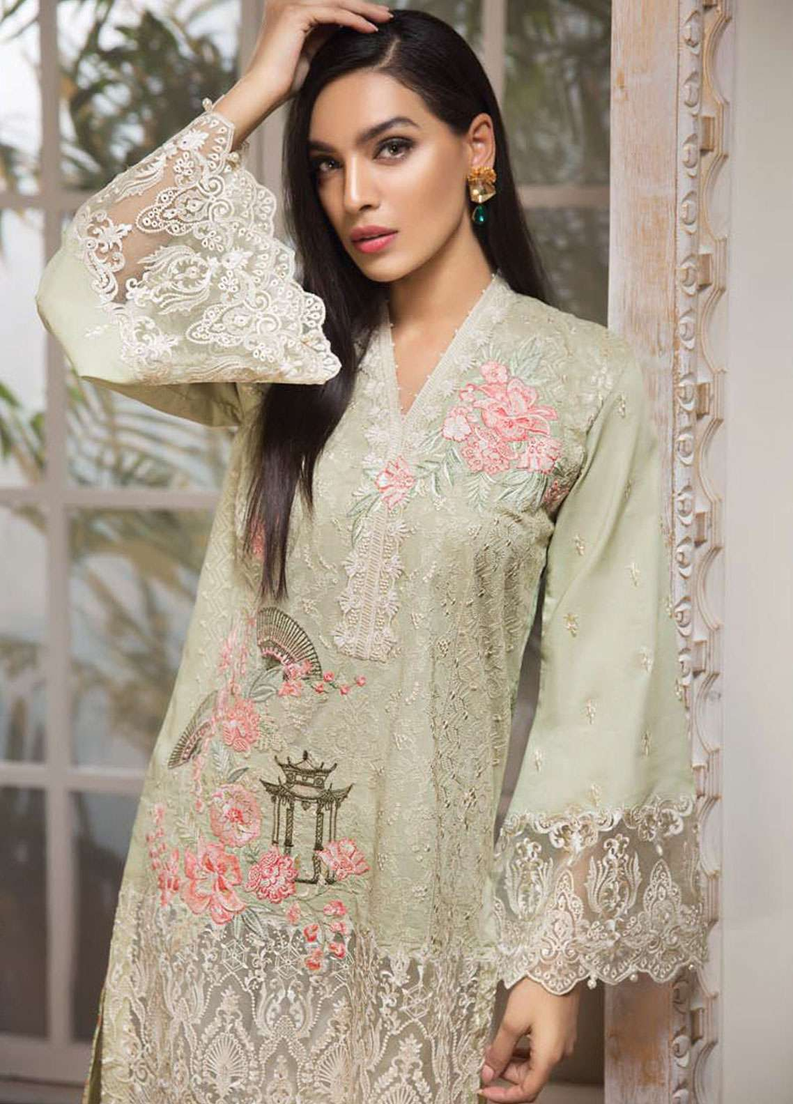 3cb7720d8e Anaya by Kiran Chaudhry Luxury Lawn 2019 Collection   Ete de L'Amour ...