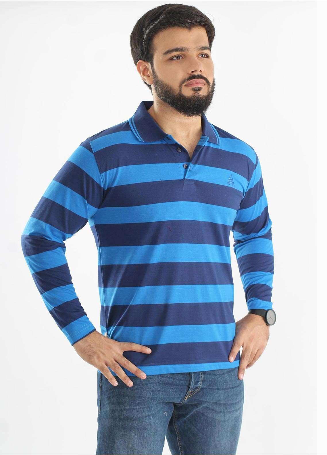 Anchor Jersey Polo Men T-Shirts - Multi A-211