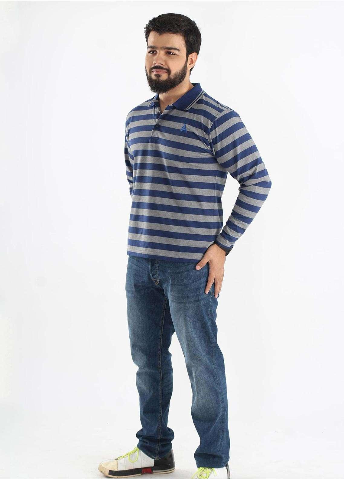 Anchor Jersey Polo Men T-Shirts - Multi A-217