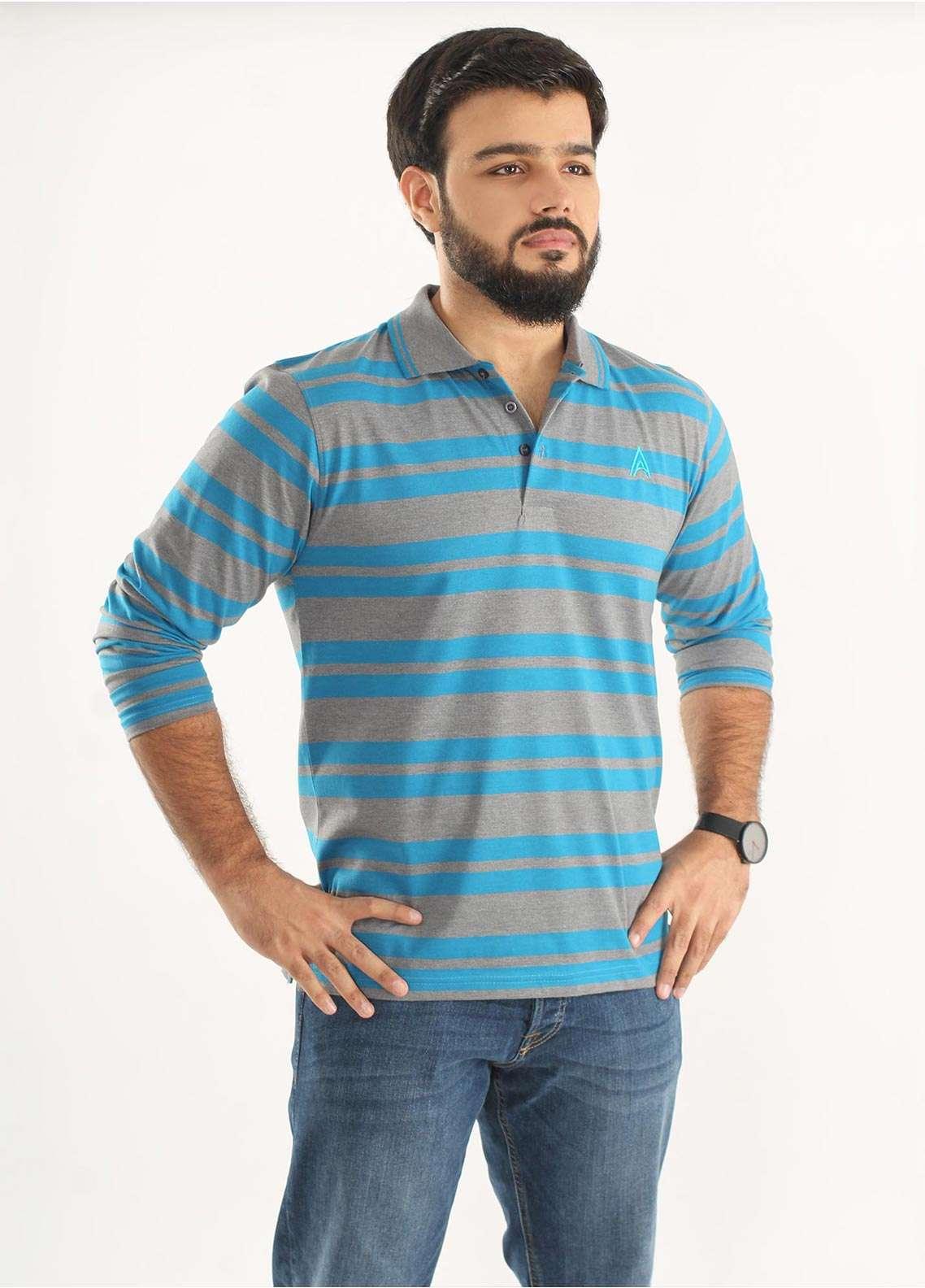 Anchor Jersey Polo Men T-Shirts - Multi A-221