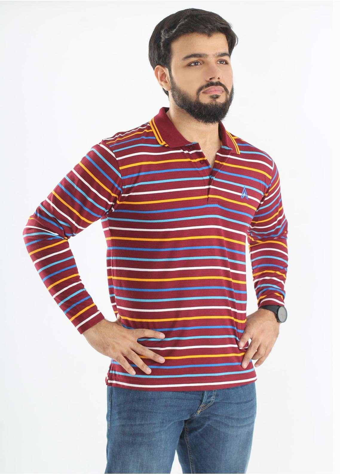 Anchor Jersey Polo Men T-Shirts - Multi A-232
