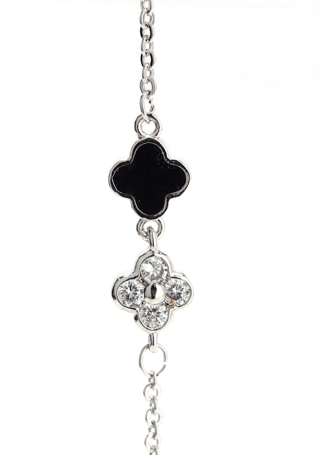 Anna Grace London Silver Crystal Women Fashion Bracelet AGB0064 - Ladies Jewellery