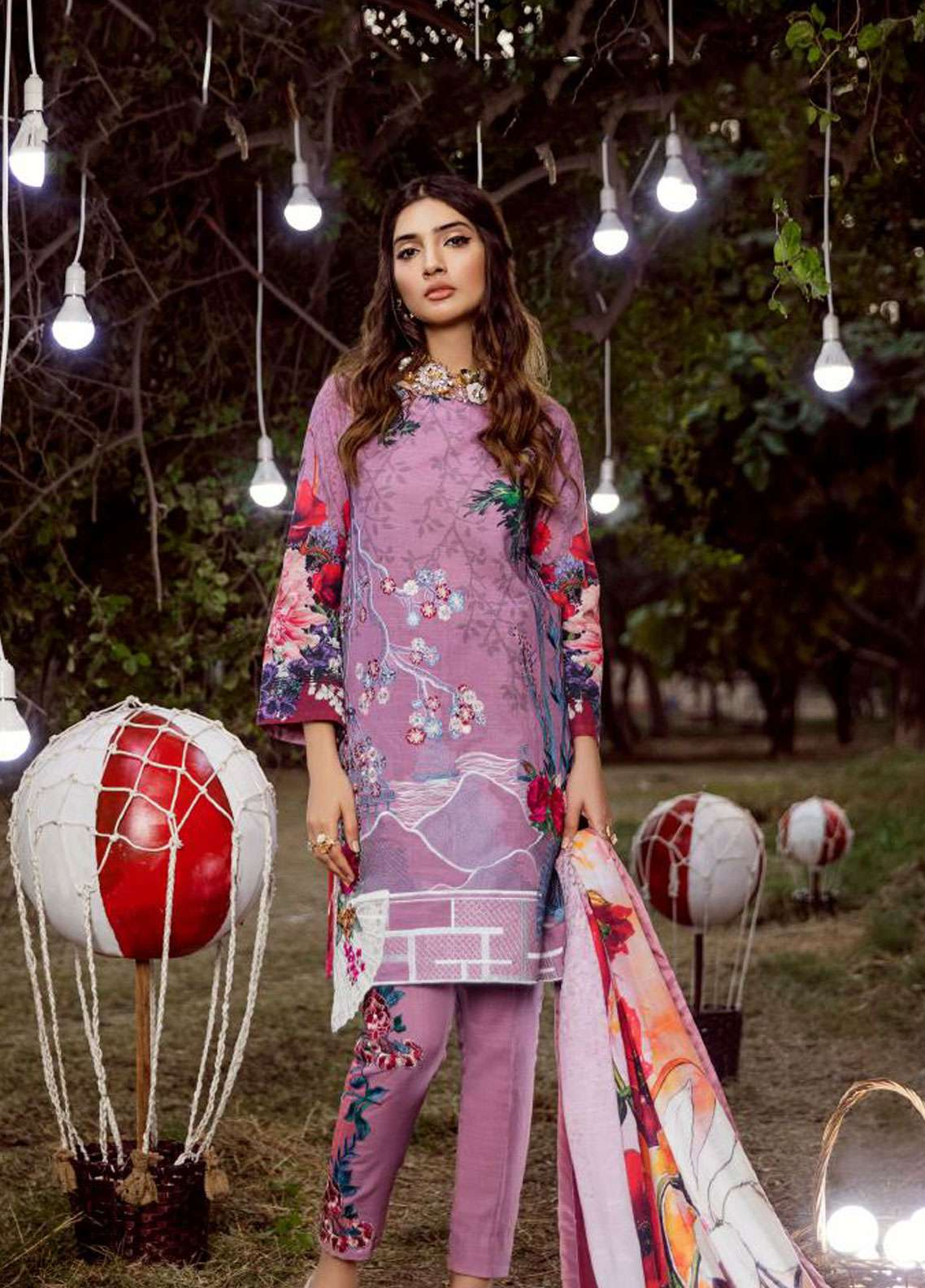 Asifa & Nabeel Embroidered Khaddar Unstitched 3 Piece Suit AN18W 10J - Winter Collection
