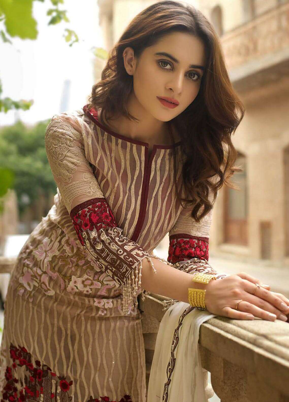 Ayesha Ibrahim by ZS Embroidered Chiffon Unstitched 3 Piece Suit AYI18C Cicek - Luxury Collection