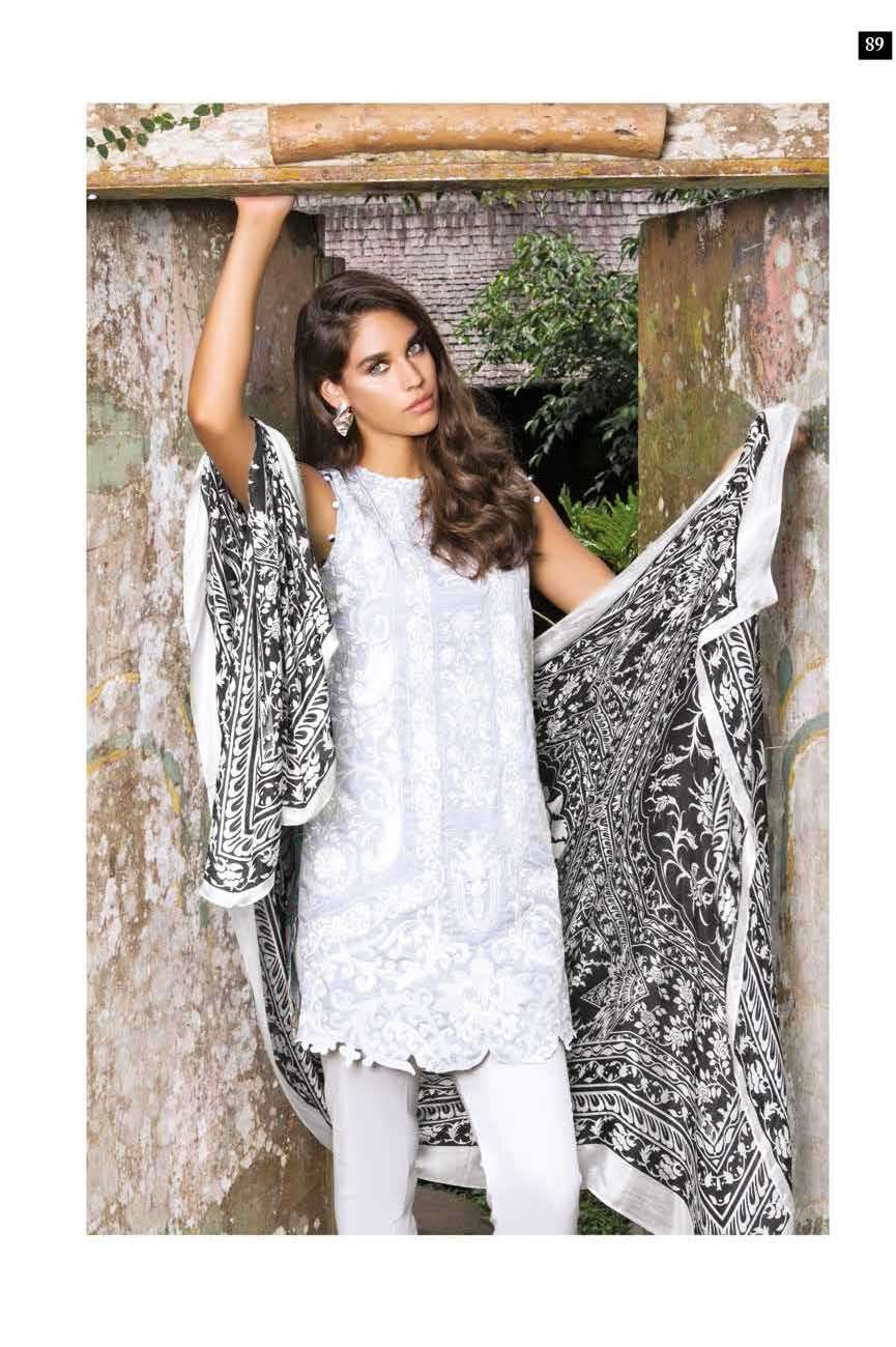 Mahgul by Al Zohaib Embroidered Lawn Unstitched 3 Piece Suit AZM17L 16