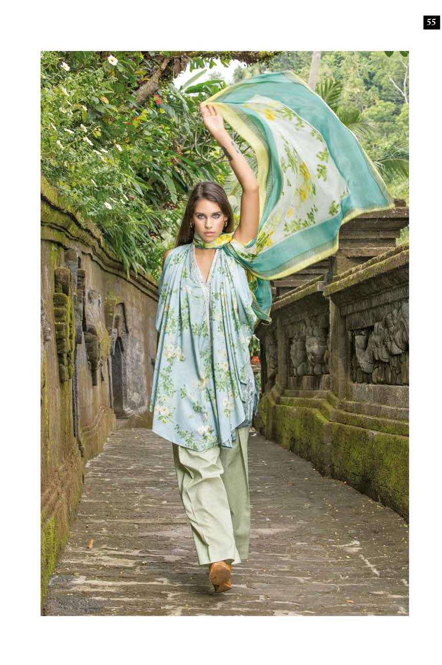 Mahgul by Al Zohaib Embroidered Lawn Unstitched 3 Piece Suit AZM17L 9B