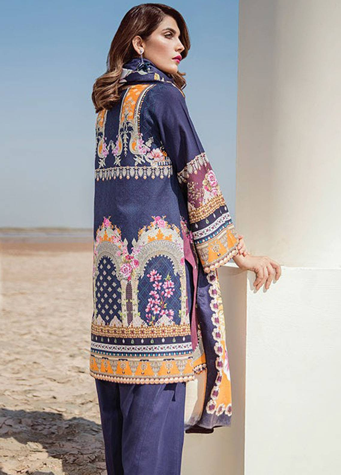 5dee92f80f44 Baroque Online: Baroque Lawn & Chiffon Suits Embroidered Collection ...