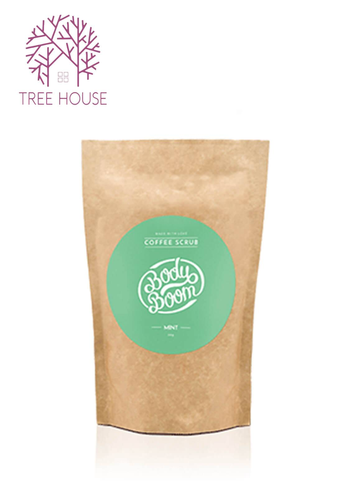 Body Boom Coffee Scrub (Mint Flavour) - 30g