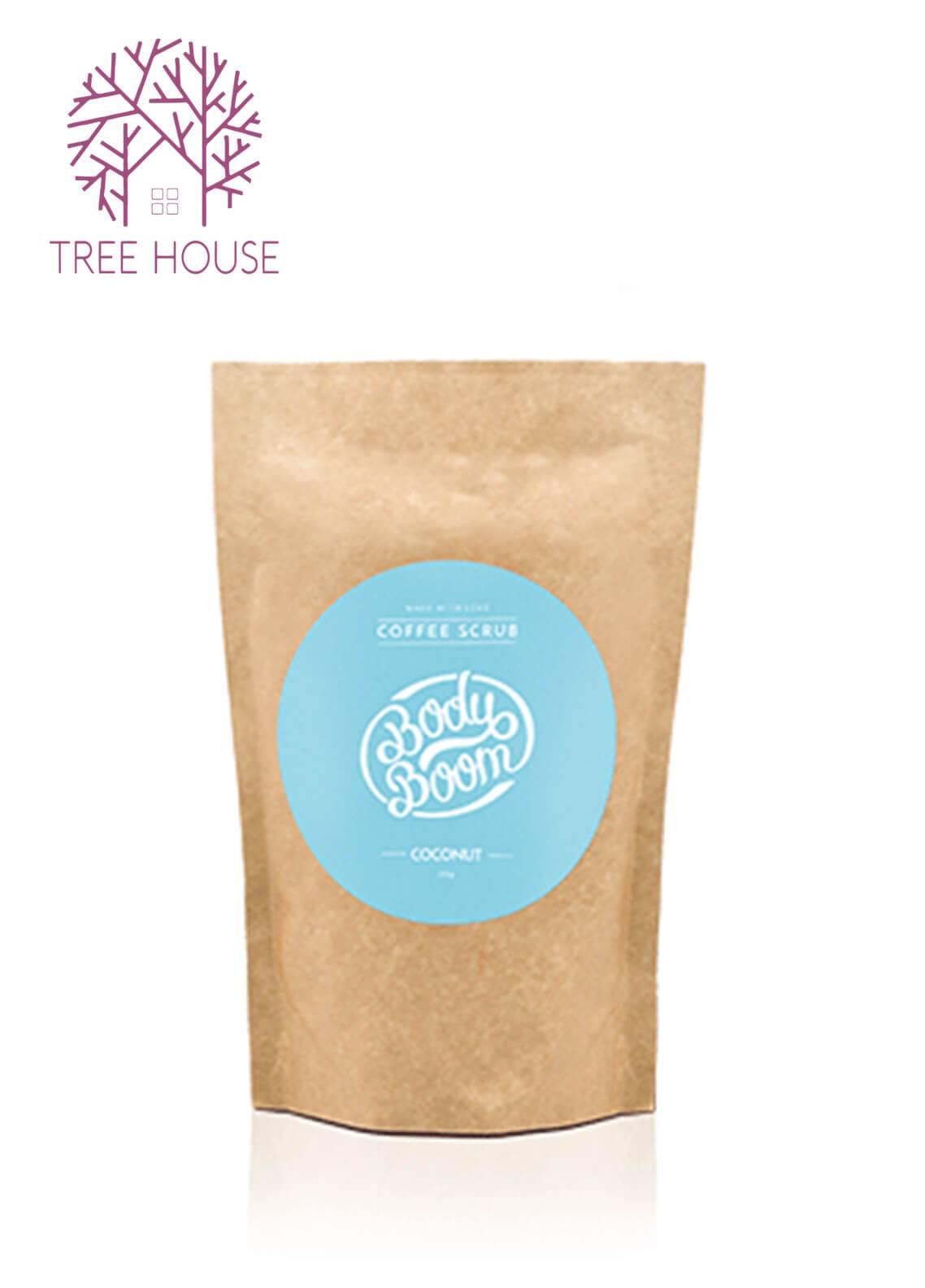 Body Boom Coffee Scrub (Coconut Flavour)