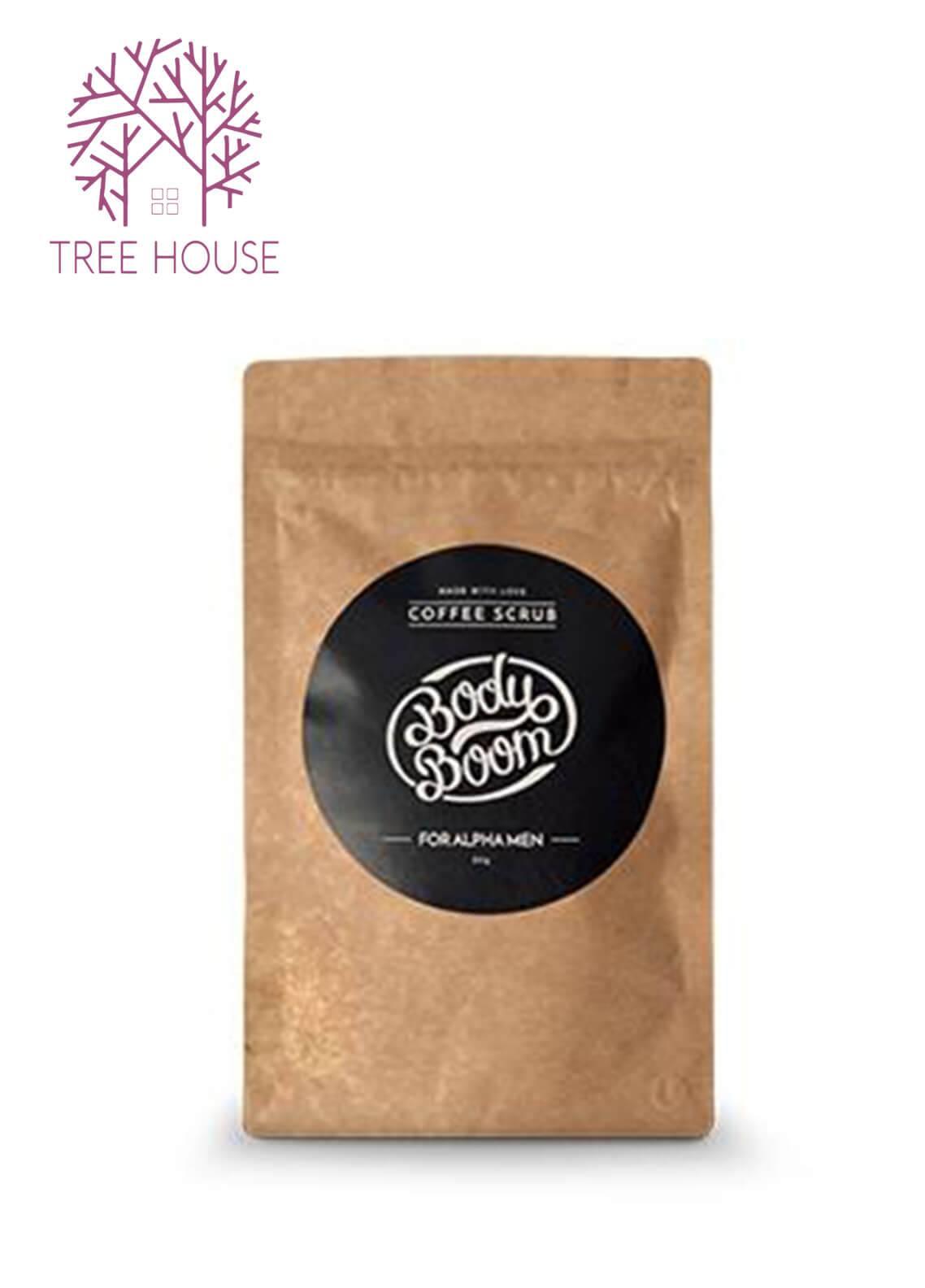 Body Boom Coffee Scrub For Men (Alpha Men)