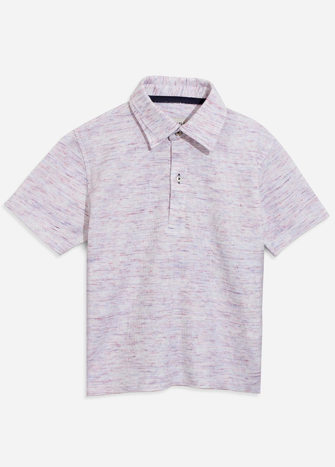 Brumano Cotton Polo Boys Shirts - Grey BRM-100