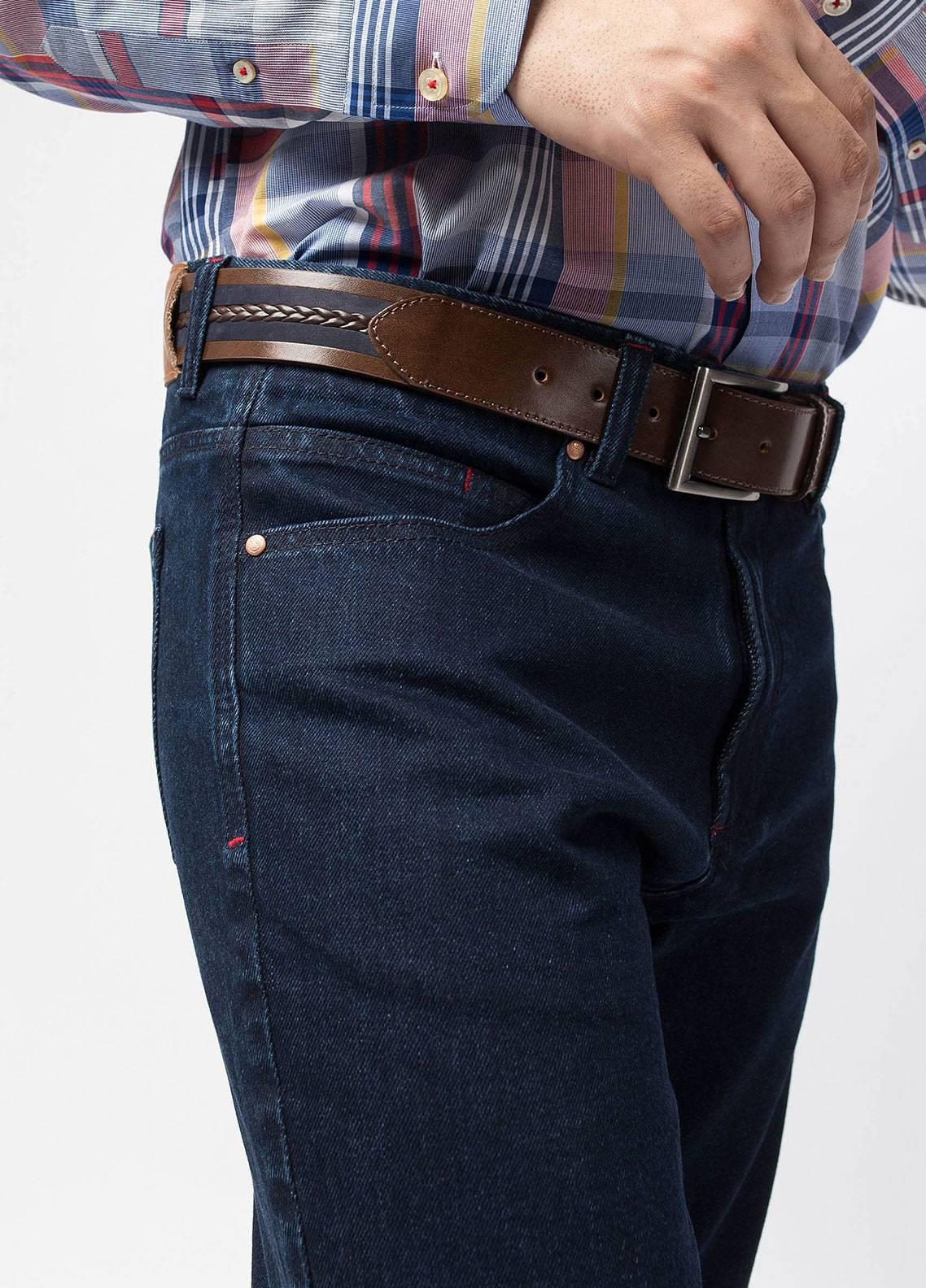 Brumano Cotton Denim Jeans for Men - Blue 0-50-0018-379