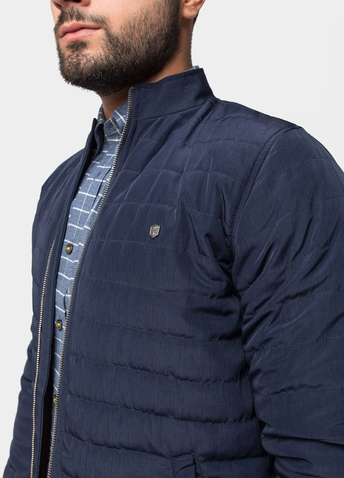 Brumano Polyester Full Sleeves Jackets for Men - Blue BRM-11-1003