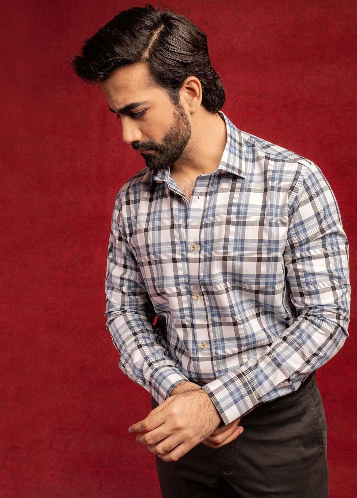 Brumano Cotton Formal Men Shirts - Multi BRM-659