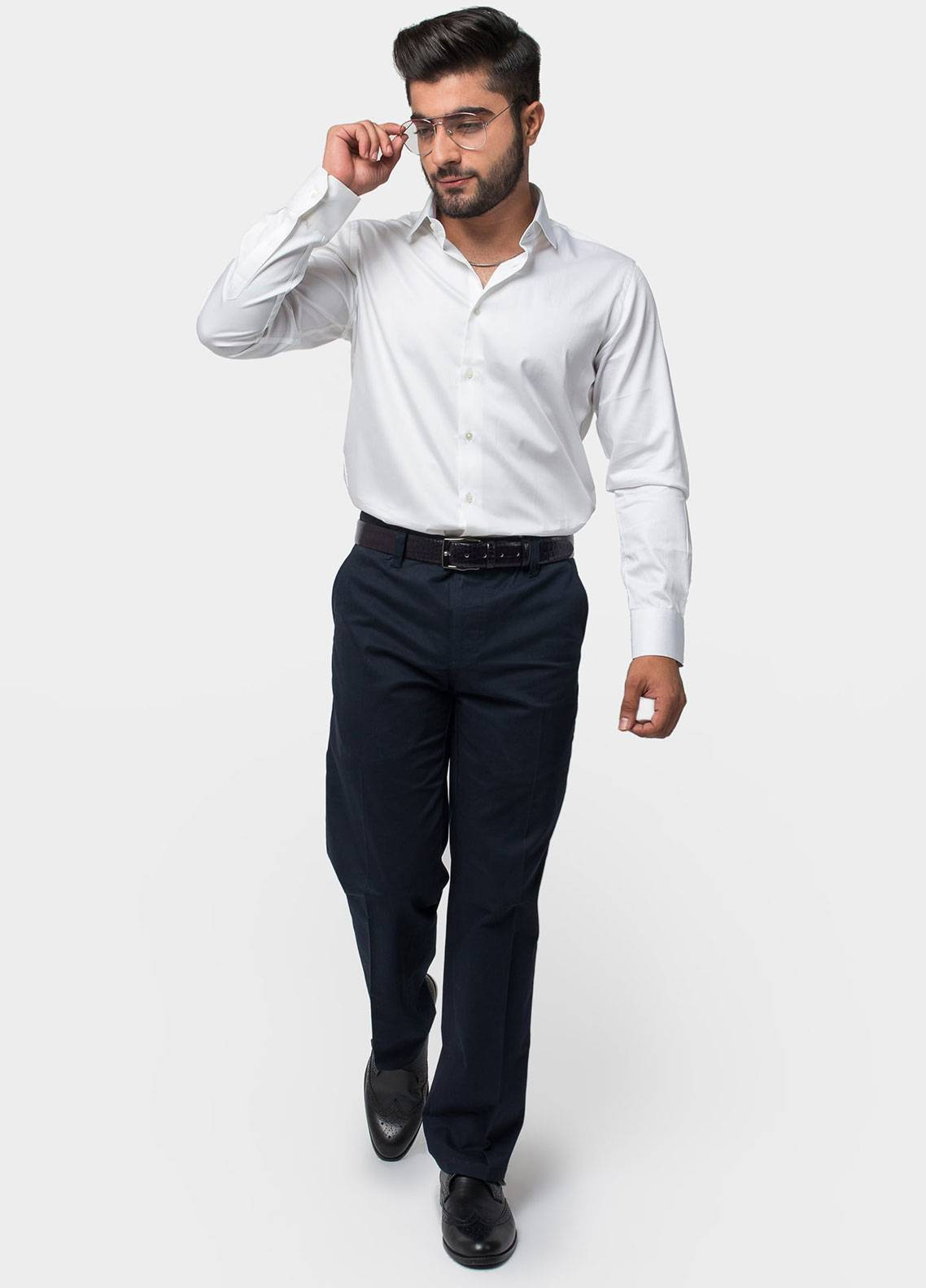 Brumano Cotton Formal Trousers for Men -  BRM-50-016