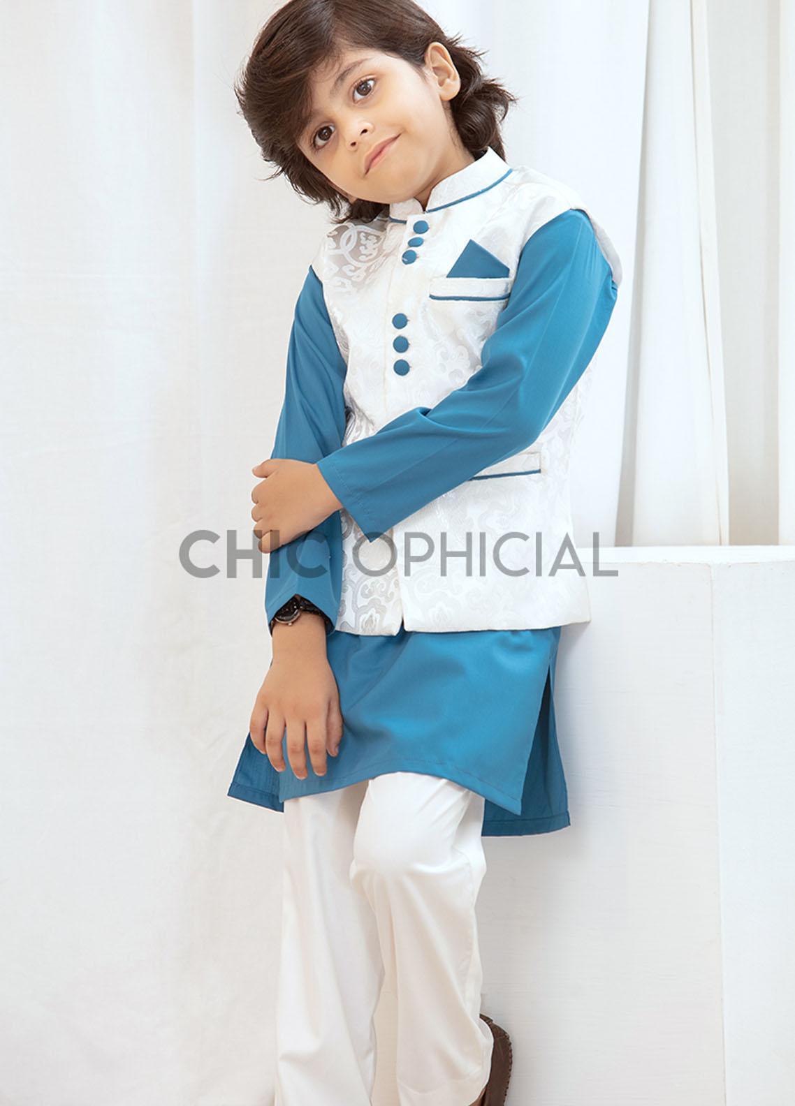 Chic Ophicial Wash N Wear Fancy Boys 3 Piece -  Phoenix