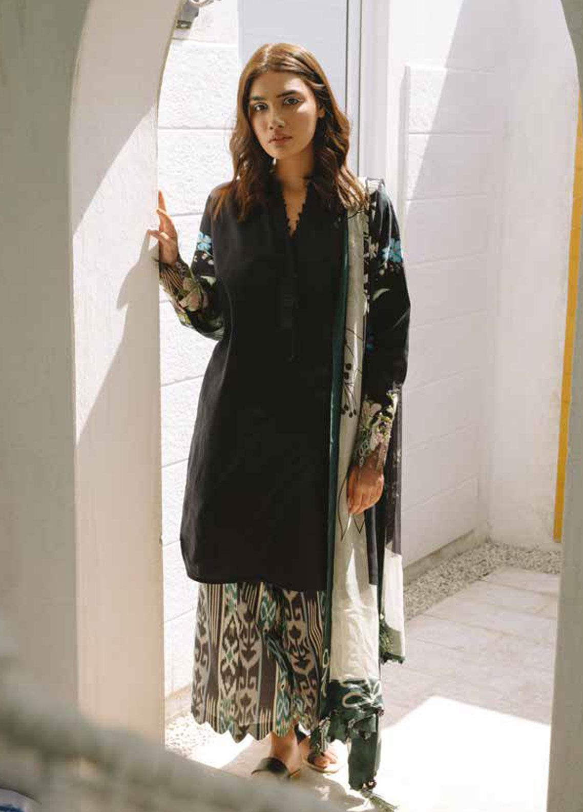 Coco by Zara Shahjahan Embroidered Lawn Unstitched 3 Piece Suit COC19L 6B - Spring / Summer Collection