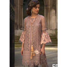 01f24ab05c Sobia Nazir Embroidered Chiffon Unstitched 3 Piece Suit SN18E 5B - Eid  Collection