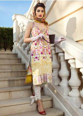 Farah Talib By LSM Embroidered Lawn Unstitched 3 Piece Suit FT17L 1A