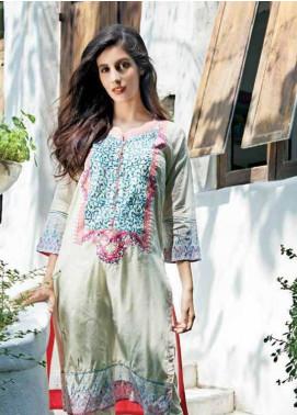 Zaneesha By Al Zohaib Embroidered Lawn Unstitched Kurtis AZN16S 9A