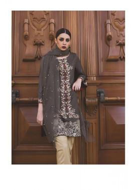Areeba Saleem Embroidered Cotton Net  Unstitched 2 Piece Suit AS17C 07