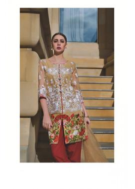 Areeba Saleem Embroidered Organza Unstitched 2 Piece Suit AS17C 08