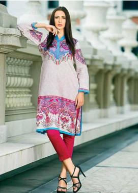 Zaneesha By Al Zohaib Embroidered Lawn Unstitched Kurtis AZN16S 6A
