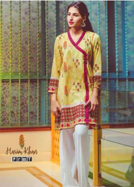 Harim Khan Printed Lawn Stitched Kurtis HK17E 006