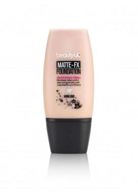 Beauty UK Matte FX Foundation - 3 Warm Sand