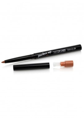 Beauty UK Pucker Up Matte Twist Up Lip Liner - 1 Naturally Naughty