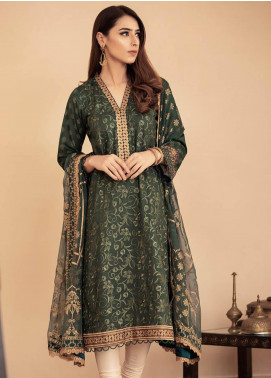 Aabyaan Embroidered Lawn Unstitched 3 Piece Suit AB20FL 02 Nawal - Summer Collection