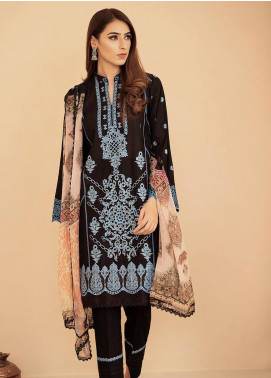 Aabyaan Embroidered Lawn Unstitched 3 Piece Suit AB20FL 06 Afreen - Summer Collection