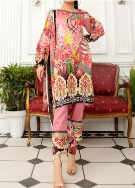 Aafreen by Riaz Arts Embroidered Viscose Unstitched 3 Piece Suit RA20AF 91 - Winter Collection