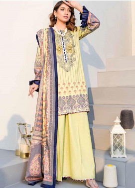 Dhanak by Aayra Embroidered Dhanak Unstitched 3 Piece Suit AY20D 01 - Winter Collection