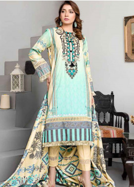Dhanak by Aayra Embroidered Dhanak Unstitched 3 Piece Suit AY20D 03 - Winter Collection
