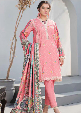 Dhanak by Aayra Embroidered Dhanak Unstitched 3 Piece Suit AY20D 05 - Winter Collection