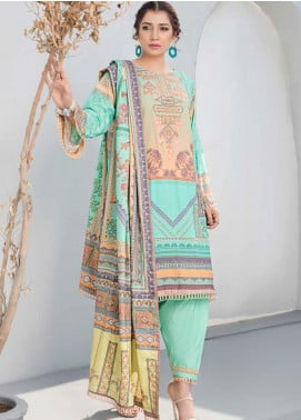 Dhanak by Aayra Embroidered Dhanak Unstitched 3 Piece Suit AY20D 07 - Winter Collection