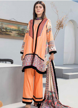 Dhanak by Aayra Embroidered Dhanak Unstitched 3 Piece Suit AY20D 08 - Winter Collection