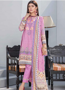 Dhanak by Aayra Embroidered Dhanak Unstitched 3 Piece Suit AY20D 10 - Winter Collection